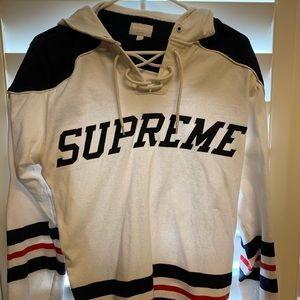 Supreme Hockey Hoodie Authentic M